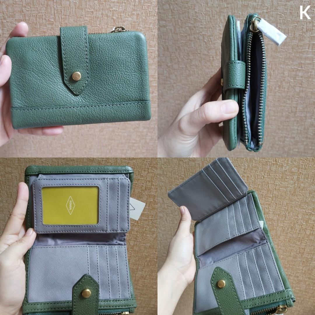 Fossil Wallet lainie multi chive