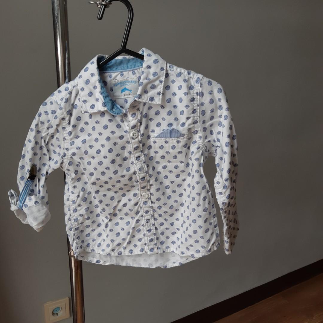 Gingersnaps 18 month baby boy shirt