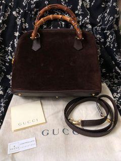 Gucci Bamboo Vintage 2 ways  Bag 竹節
