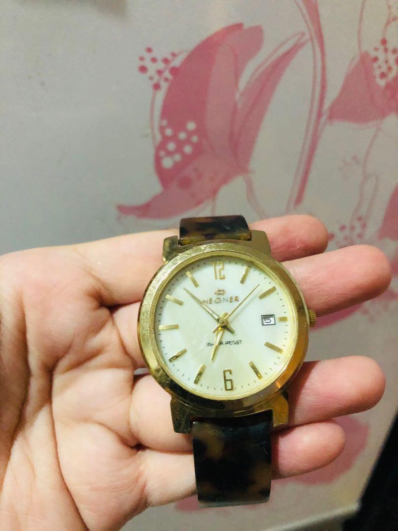 Hegner Gold Watch