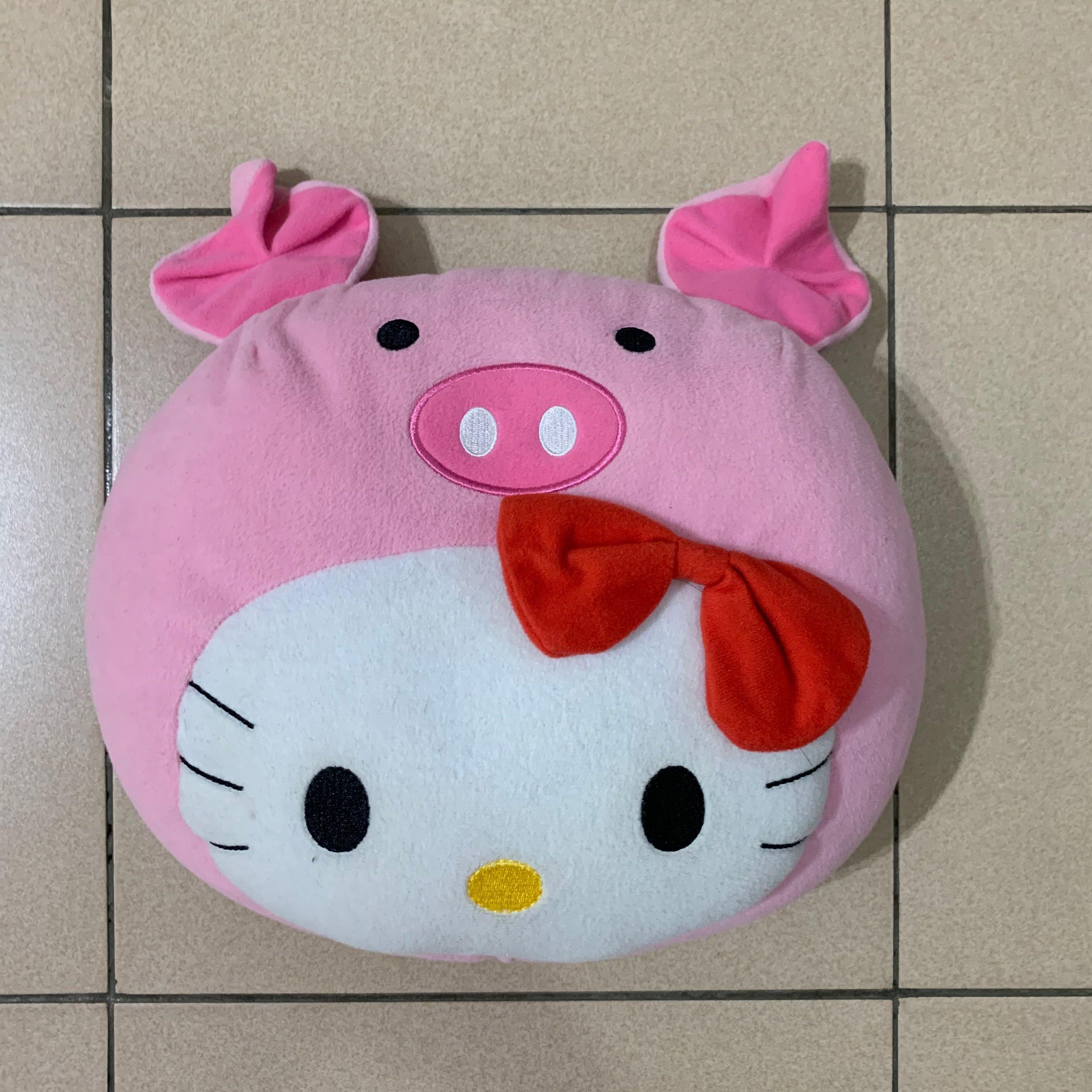 Hello kitty 麥當勞 聯名 凱蒂貓 無嘴貓 豬 粉紅豬 娃娃 可愛 玩具 收藏 限量