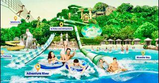 I Adventure cove water park cheap ticket discount Sentosa Universal Studios Aquarium cable Car sentosa line Luge and Sky ride skyline Trick eye Madam Tussauds butterfly wings of time