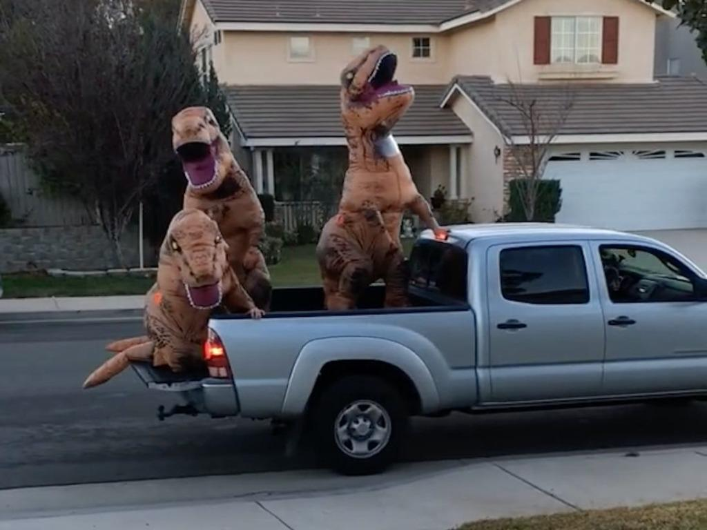 Inflatable Dinosaur T-Rex Costumes