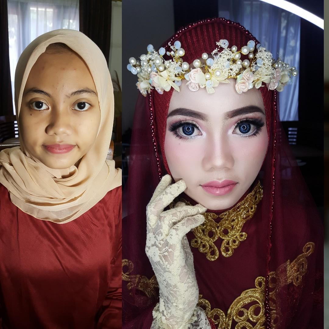 Jasa makeup wedding wisuda pesta dll