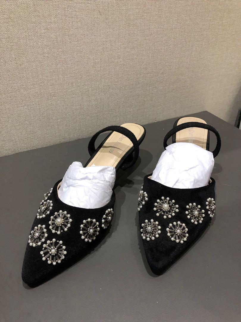 Joanna Beaded Heels