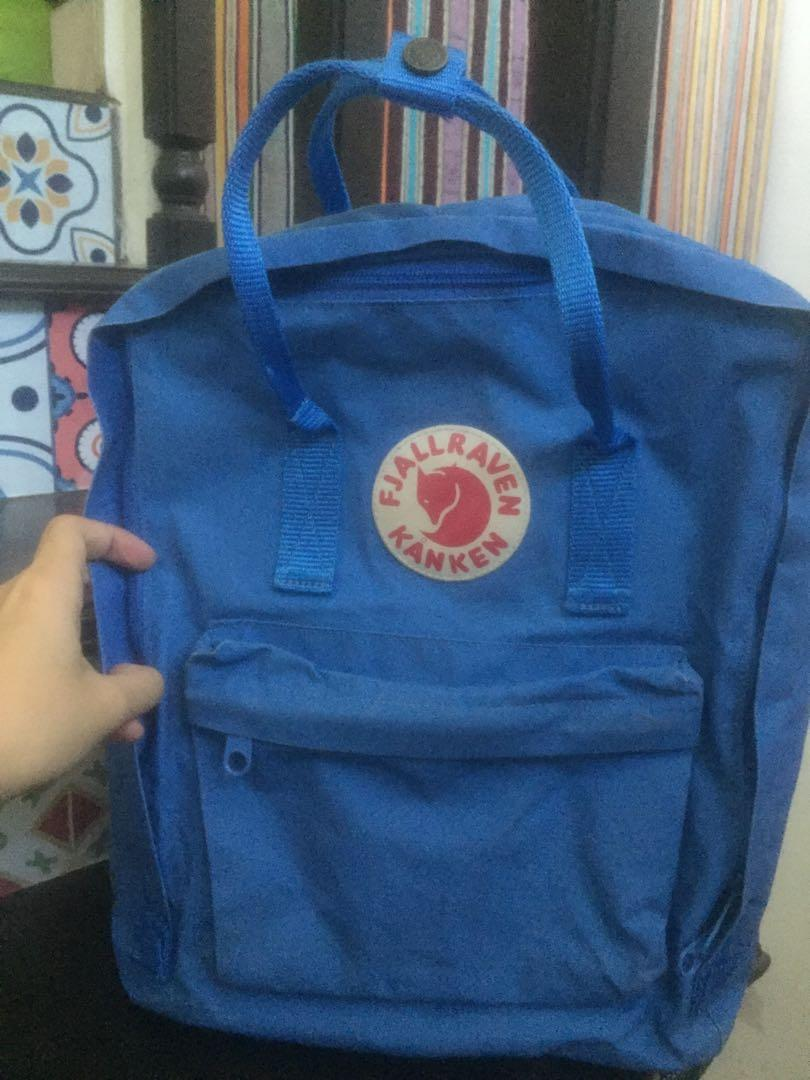 Kanken bag blue bag