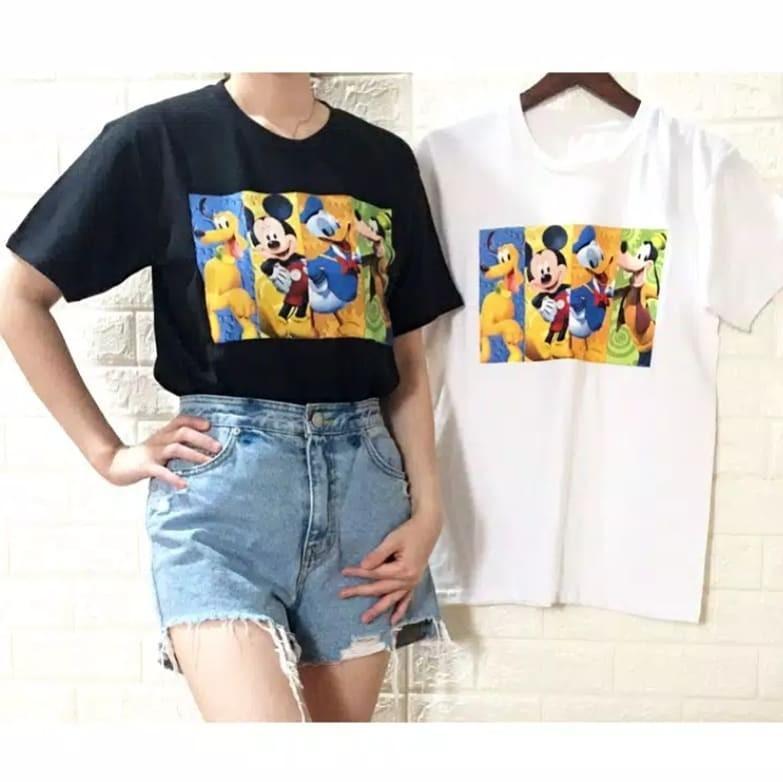Kaos Mickey And Friends / Kaos Disney / Kaos Wanita Murah