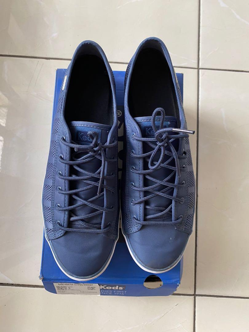 Keds Triple Kick Mesh Blue size 40
