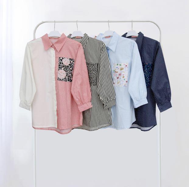 Kemeja blouse top wanita