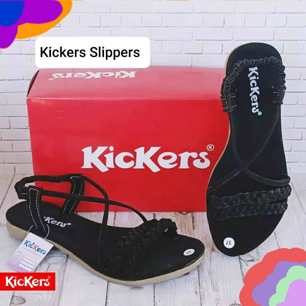Kickers slippers FREE BOX