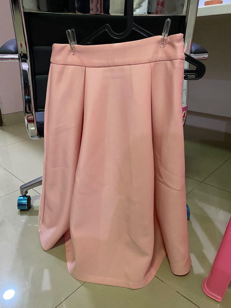 Lenz + Louis - A line Skirt (ini pale orange)