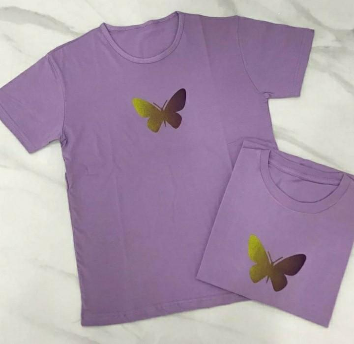 Lilac edition buterfly tops