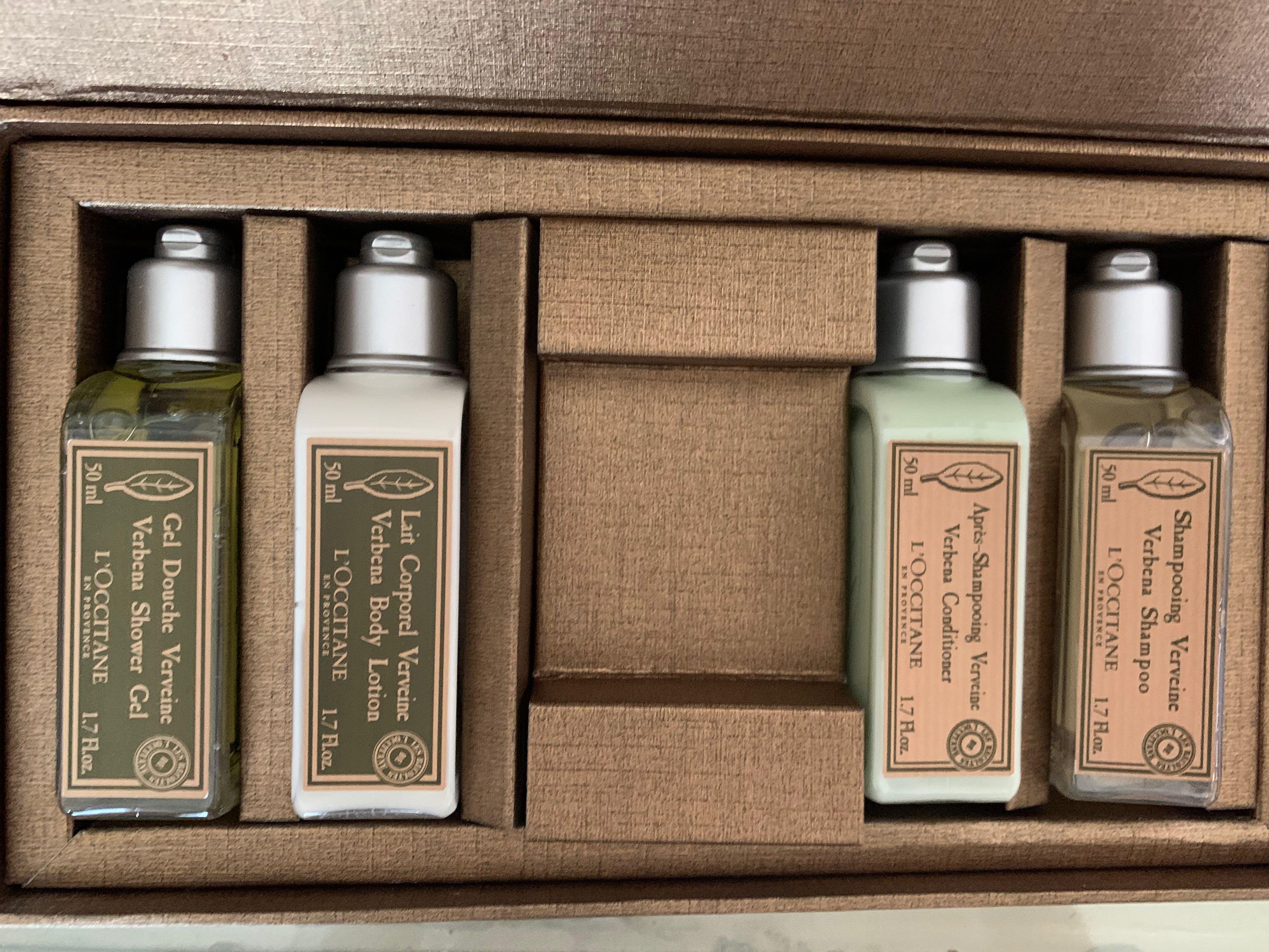 L'occitane Verbena Set of 4 (body lotion, shower gel, shampoo and conditioner) loccitane