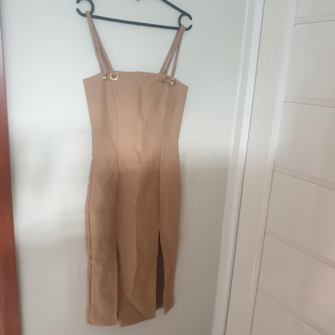 Long dress Bodycon scuba