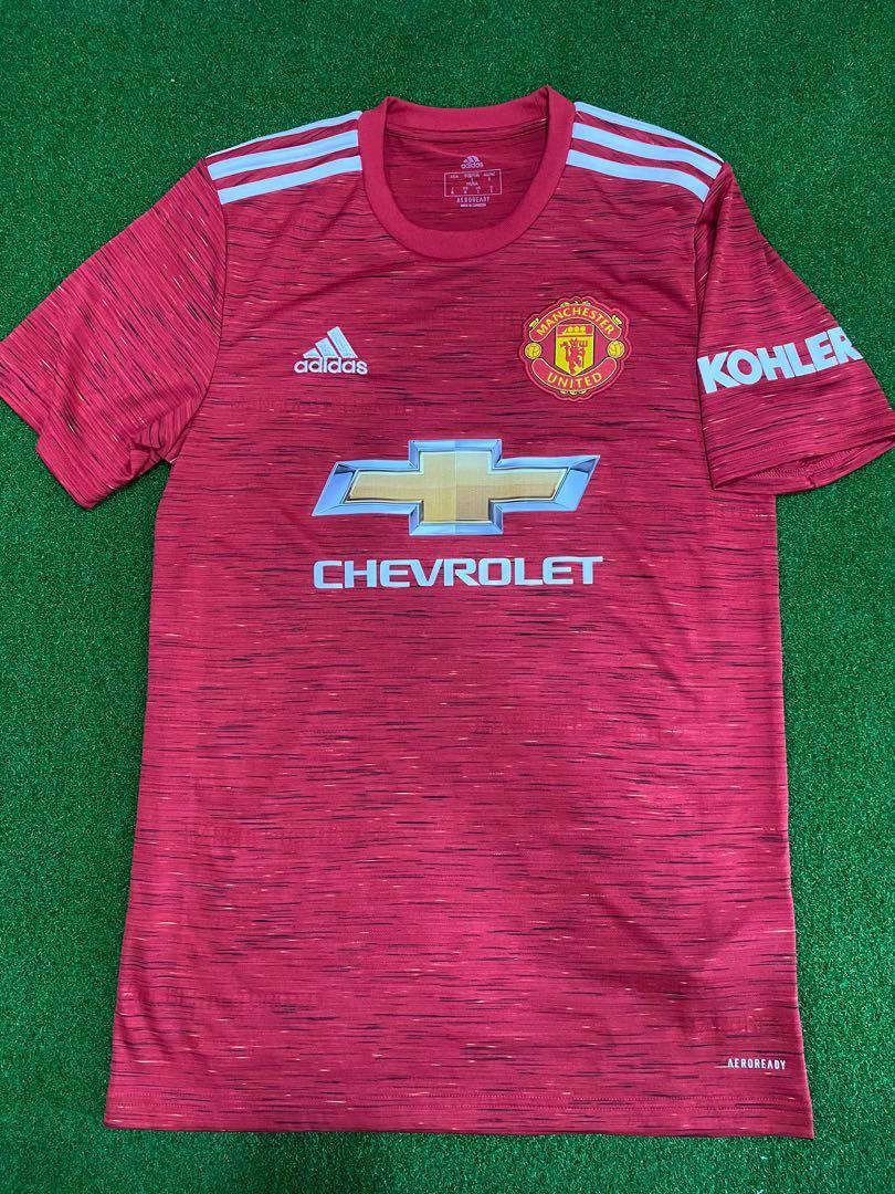 Manchesters United season 20/21 Jersey
