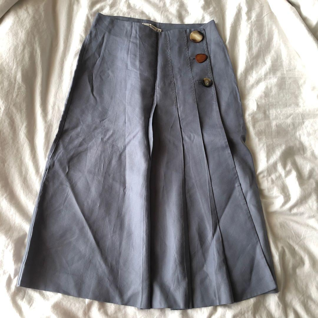 mango korean skirt
