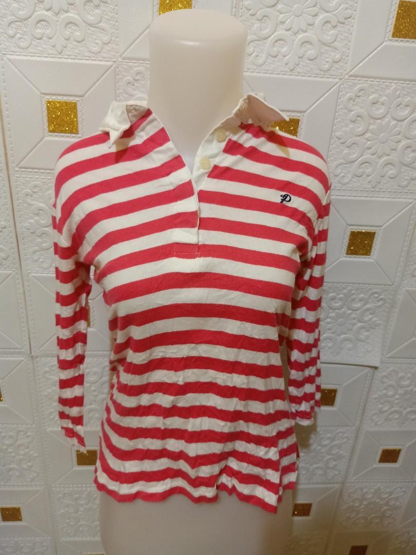 #mauovo polo shirt stripe