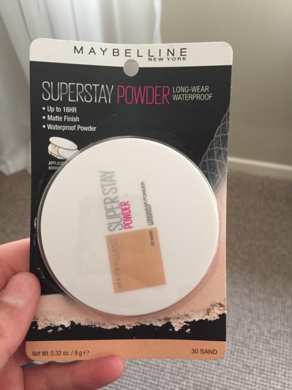 Maybelline super stay powder 30 sand
