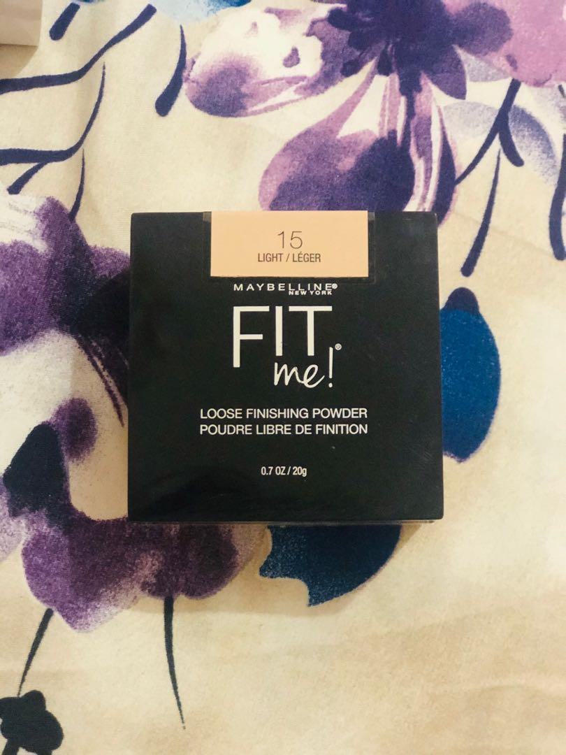 Maybelline Fit Me! Loose Finishing Powder No. 15 (light)