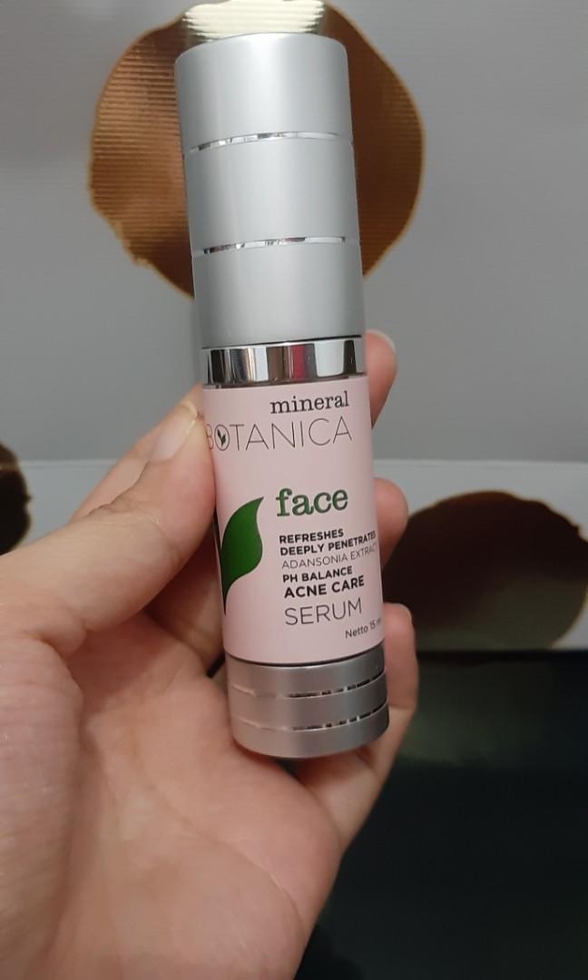 MINERAL BOTANICA SERUM (for acne)