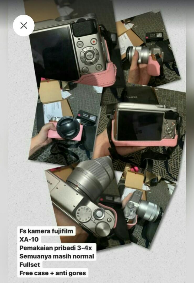 Mirrorless Fujifilm XA10