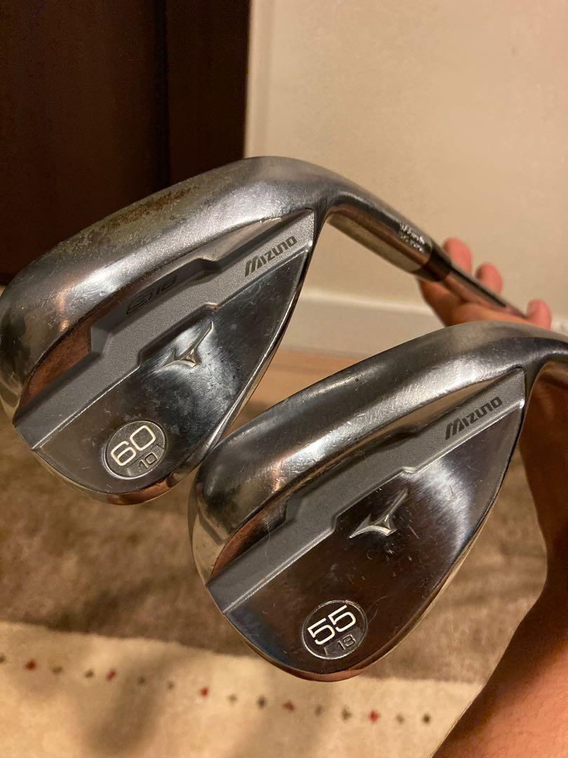 Mizuno S18 Chrome 60 & 55 Degree Wedges