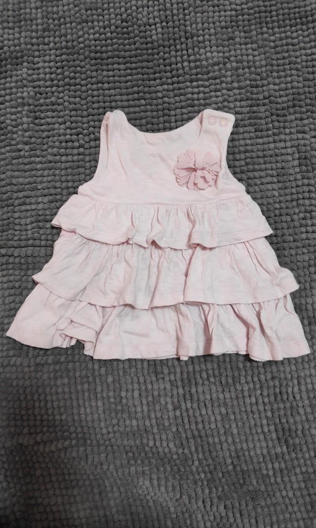 Mothercare Baby Dress Pink Salem 3-6m
