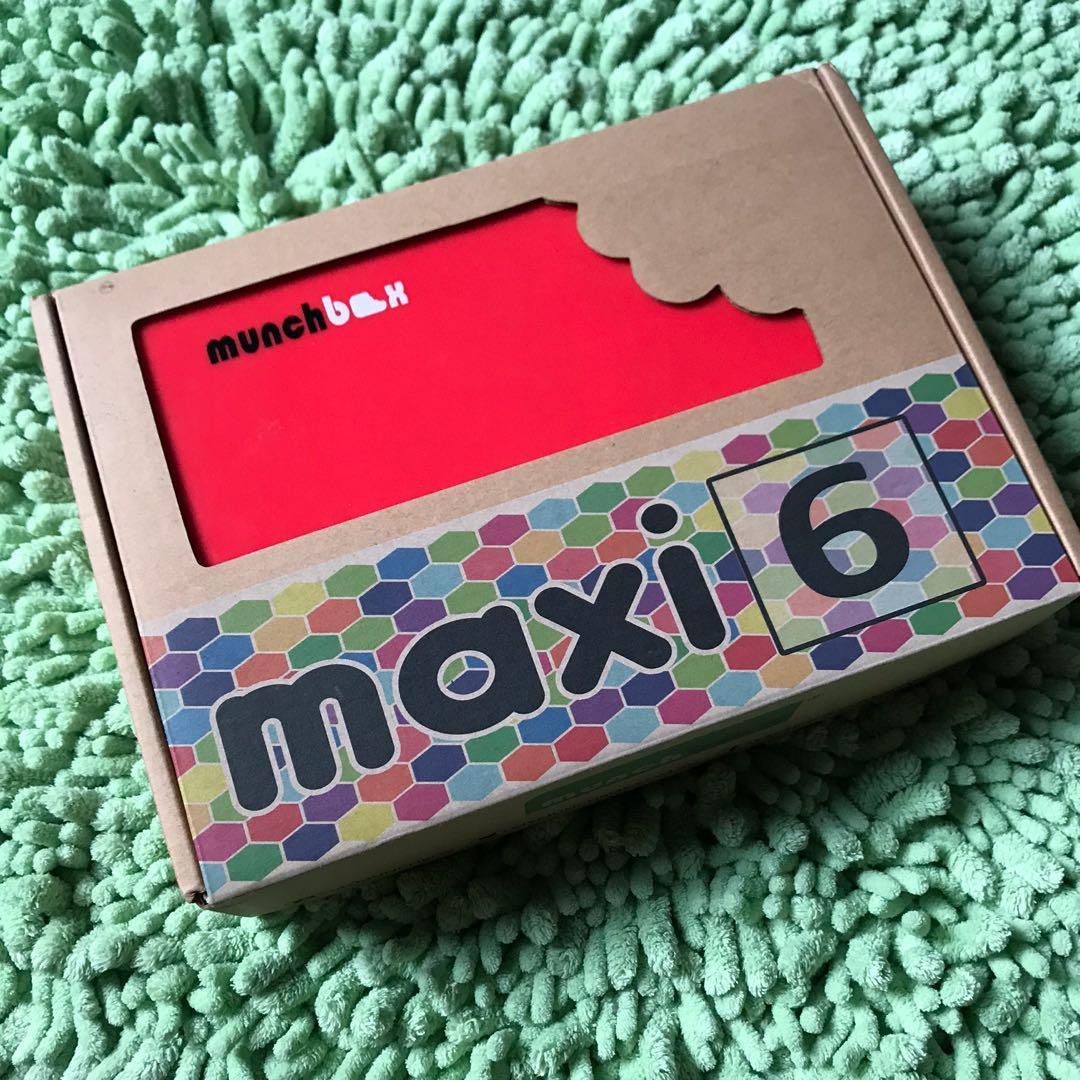 Munchbox maxi 6 original new