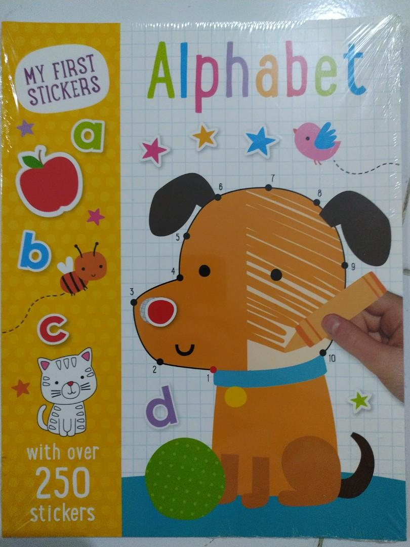 My first stickers alphabet