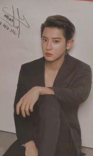 Both poster 1 pc Nacific Chanyeol Exo