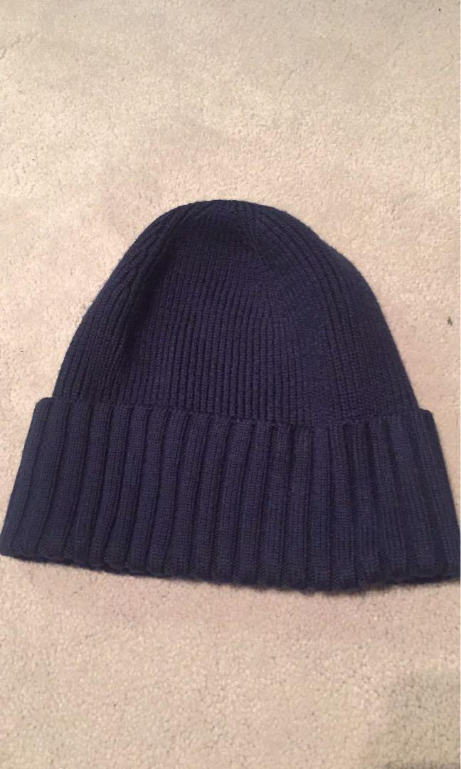 Navy Ribbed Tuque/Beanie