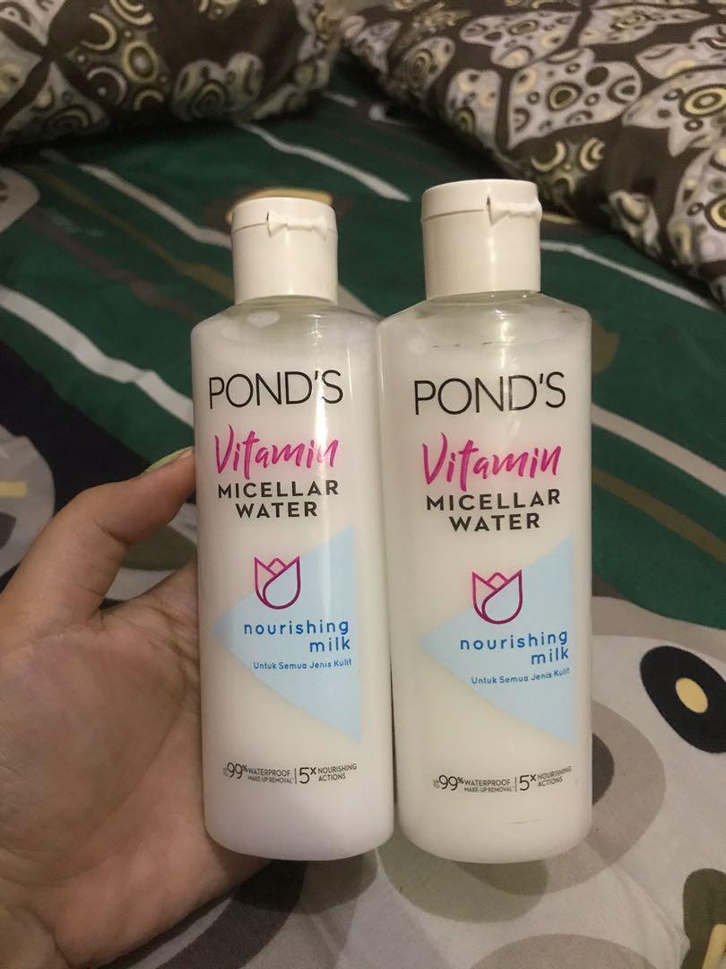 #oktoberovo NEW pond's vitamin micellar water 100 ml