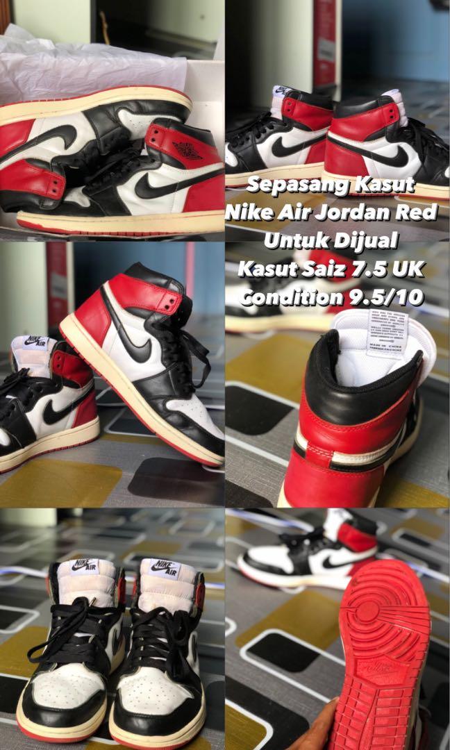 Nike Air Jordan Men S Fashion Footwear Sneakers On Carousell