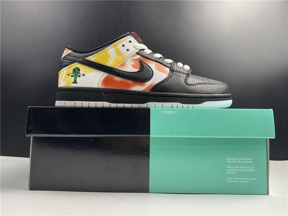 Nike SB Dunk Low Shoes Raygun BQ6832-001 Men Size EU40-47.5 US7-13