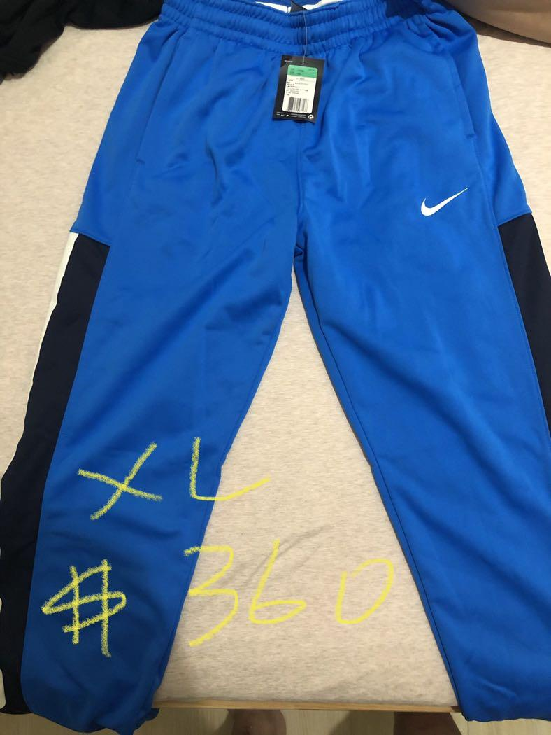 Nike藍色長褲xl全新吊牌未拆