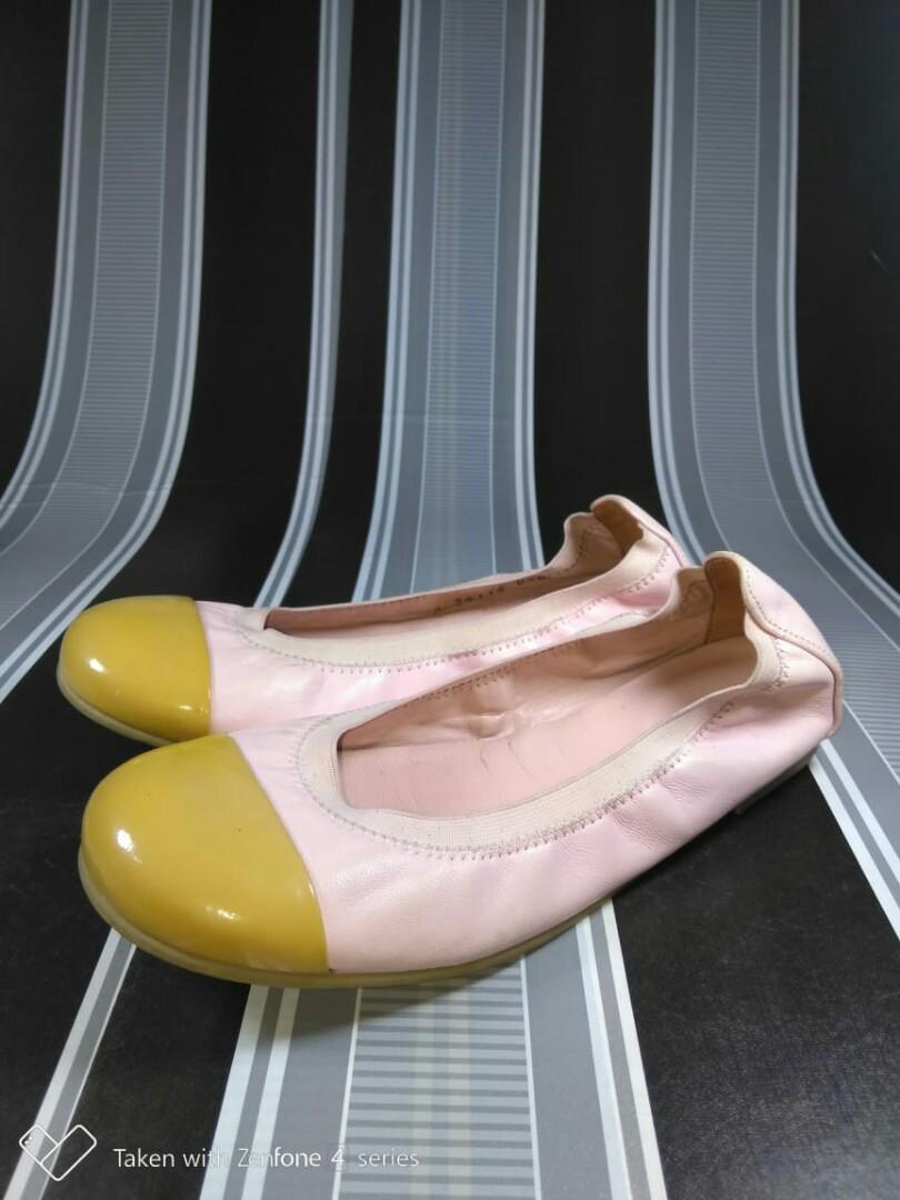 #Oktoberovo Pretty Ballerinas Original Leather 33 size kids shoes