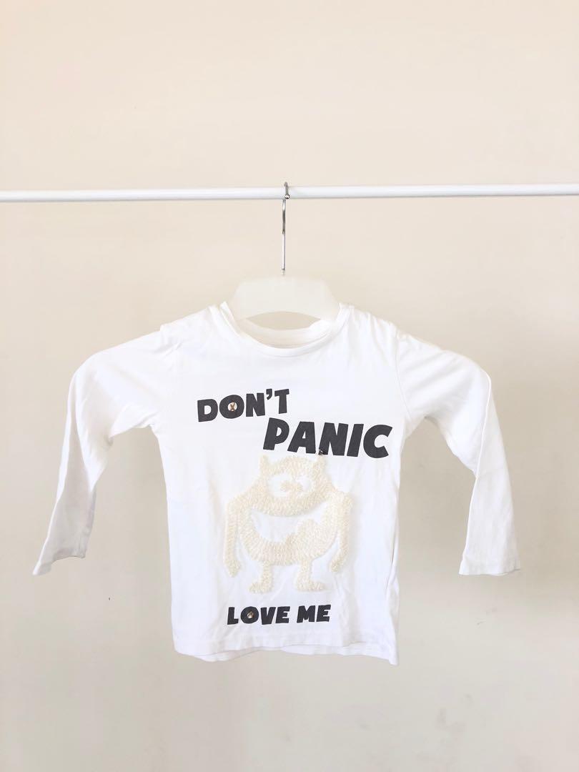 #oktoberovo Zara Kaos T-shirt Lengan Panjang 2T