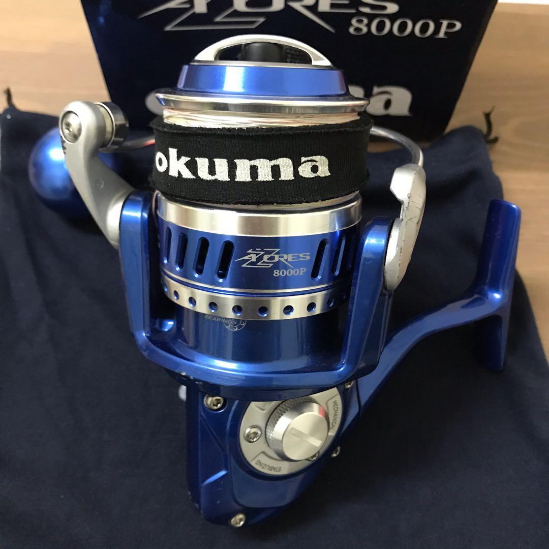 okuma 新版阿諾8000型捲線器