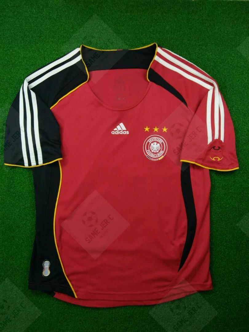 *ORIGINAL * L Boy , Germany Away Jersey 2005/07