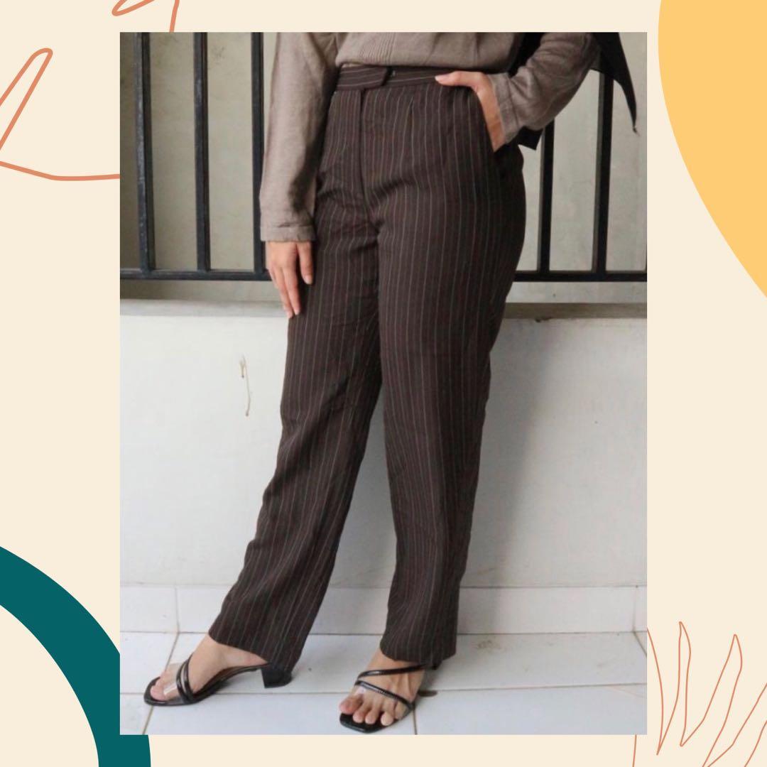 Pants list brown