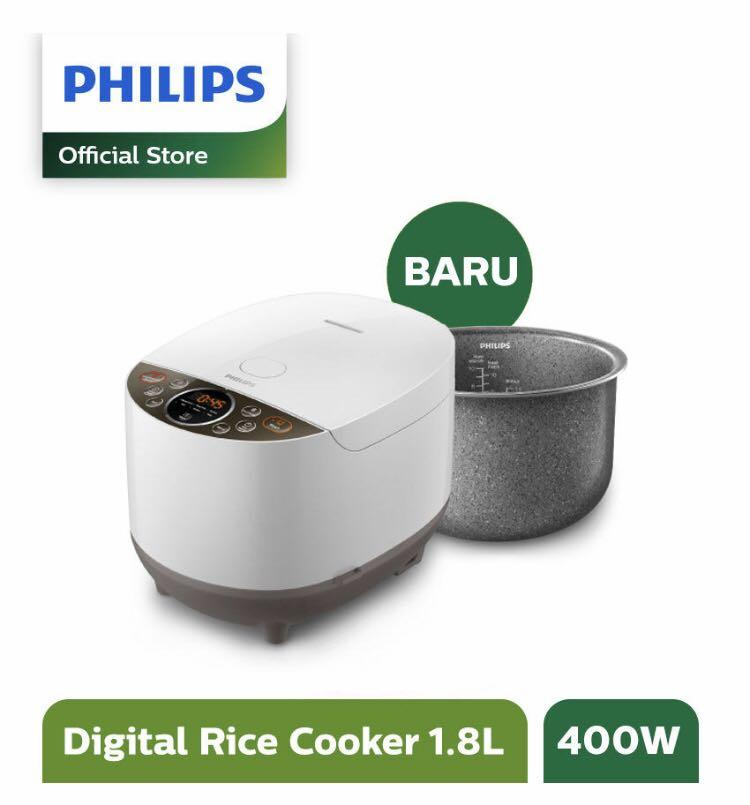 Philips Rice Cookers - 400 W - 1,8L