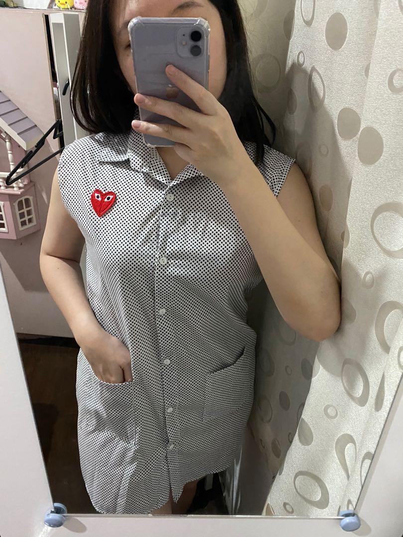 Polka Mini Dress