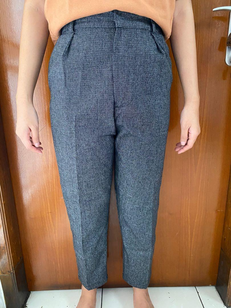 Popoluca Grid Pants