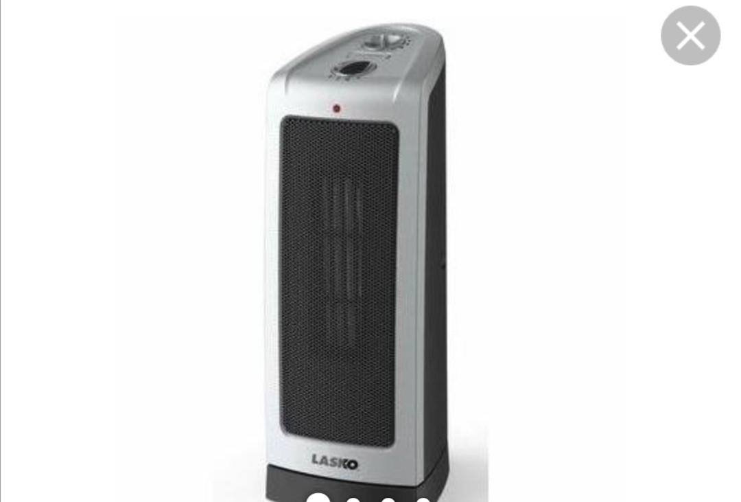 portable ceramic heater, 1500W