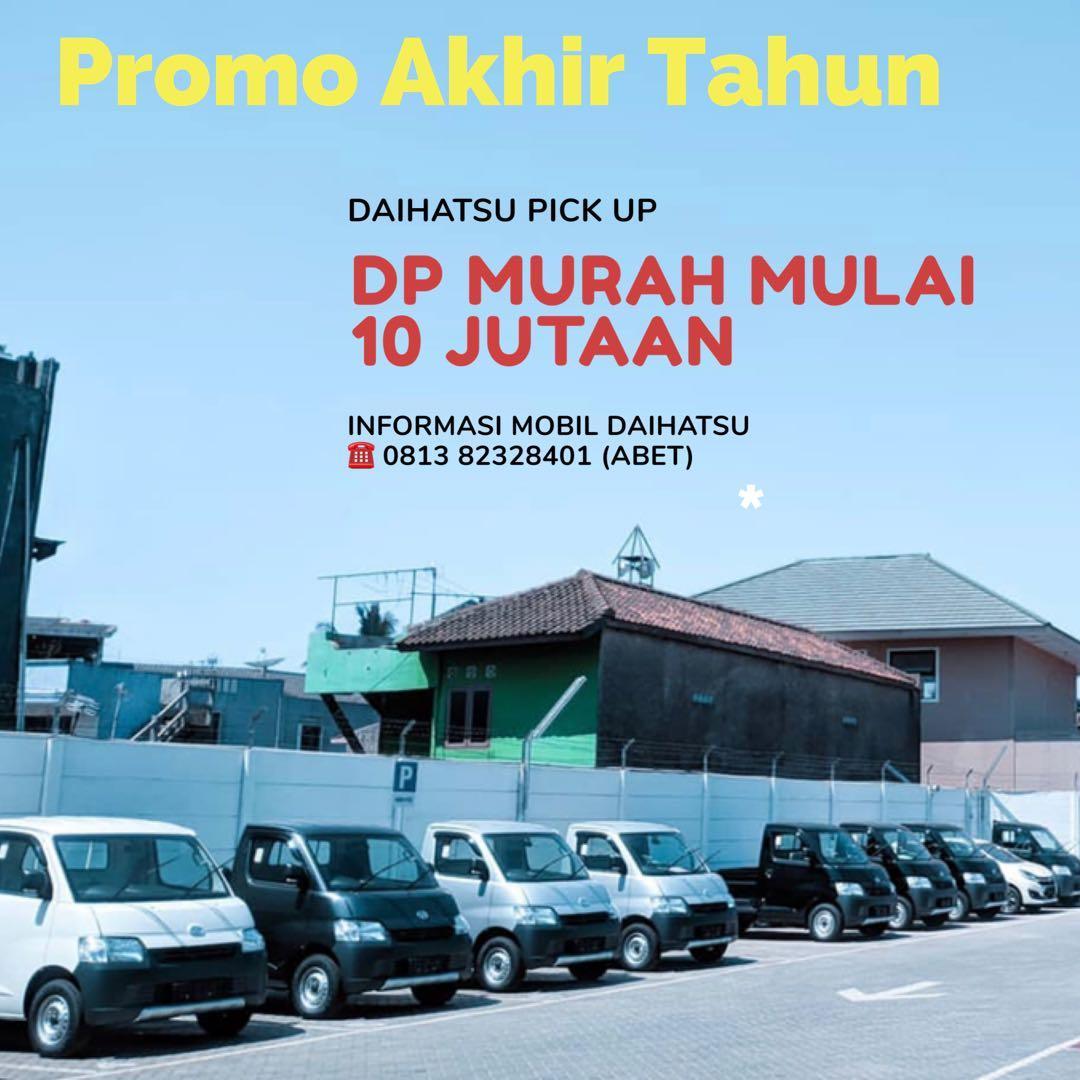 PROMO DP RINGAN Daihatsu Pick Up mulai 10 jutaan