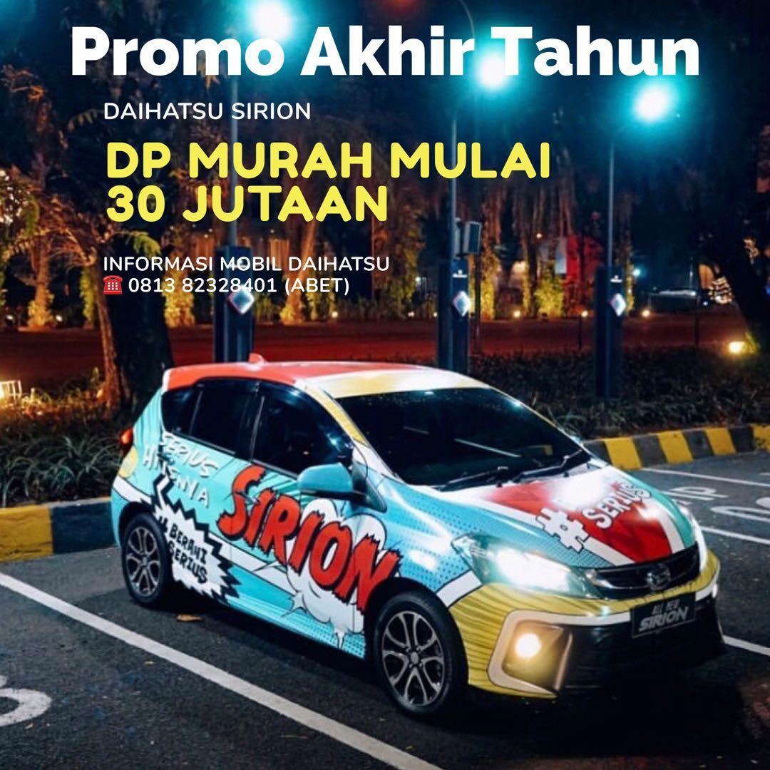 PROMO DP RINGAN Daihatsu Sirion mulai 30 jutaan