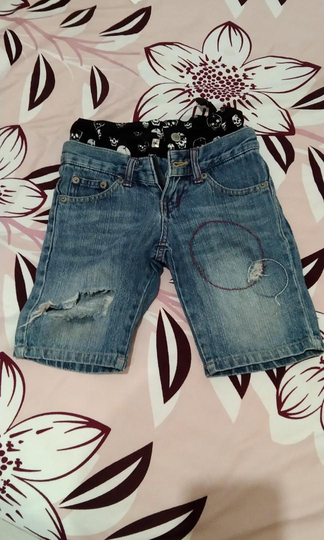 Ripped kid jeans