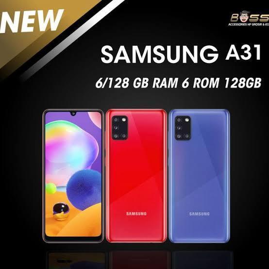 Samsung Galaxy A31 6/128 GB Bisa kredit tanpa  CC