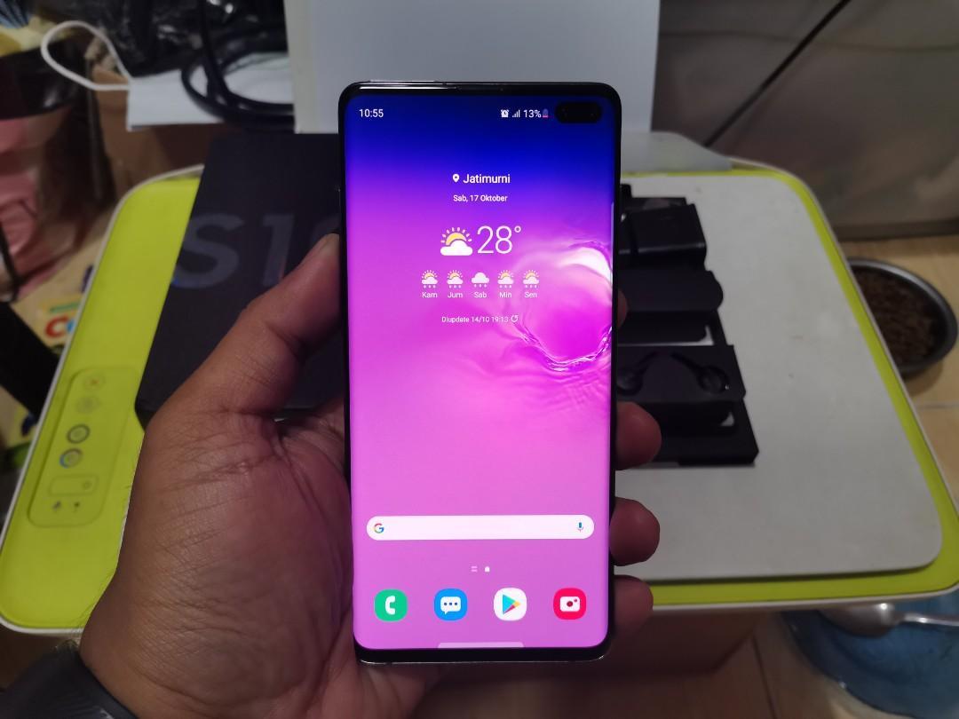 Samsung Galaxy S10 Plus (S10+) SEIN 8/128 Black