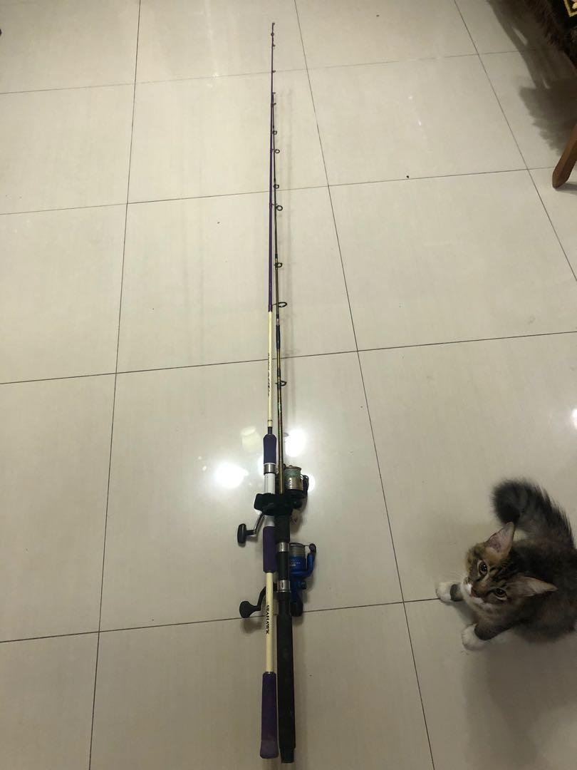 Seahawk rod 6'5 and reel 2 for 150
